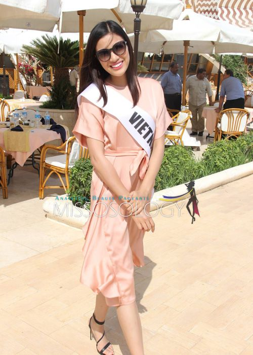 Nguyen Thi Thanh lot top 15 thi ao tam tai Miss Eco International - Anh 1