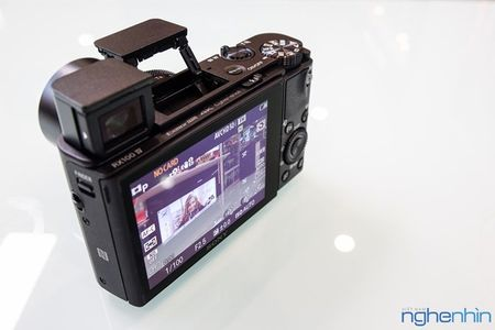 Mo hop may anh compact Sony RX100 IV quay video 4K - Anh 10
