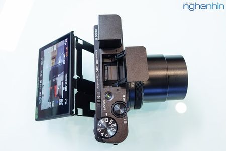 Mo hop may anh compact Sony RX100 IV quay video 4K - Anh 3