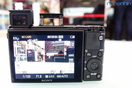 Mo hop may anh compact Sony RX100 IV quay video 4K - Anh 8