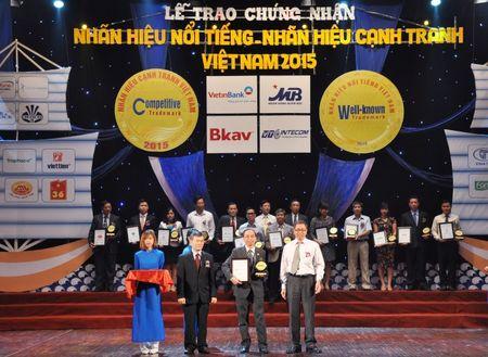 SeABank nhan giai thuong 'Nhan hieu noi tieng Viet Nam 2015' - Anh 1
