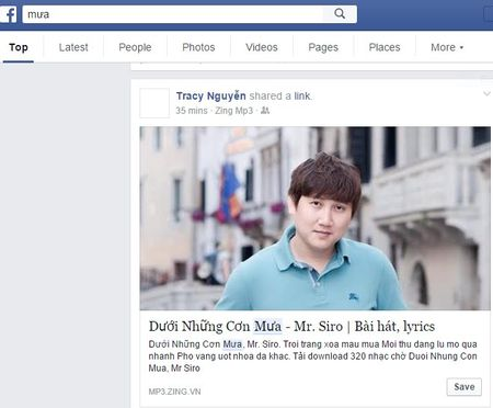 Facebook ra mat tinh nang tim kiem bai da dang - Anh 2