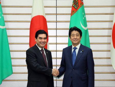 Nhat Ban ho tro Turkmenistan 18 ty USD phat trien co so ha tang - Anh 1