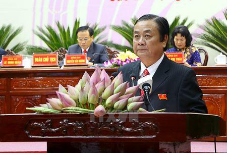Ong Le Minh Hoan tai dac cu chuc danh Bi thu Tinh uy Dong Thap - Anh 1