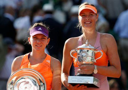 Maria Sharapova roi vao bang dau kho nhan o WTA Finals 2015 - Anh 1