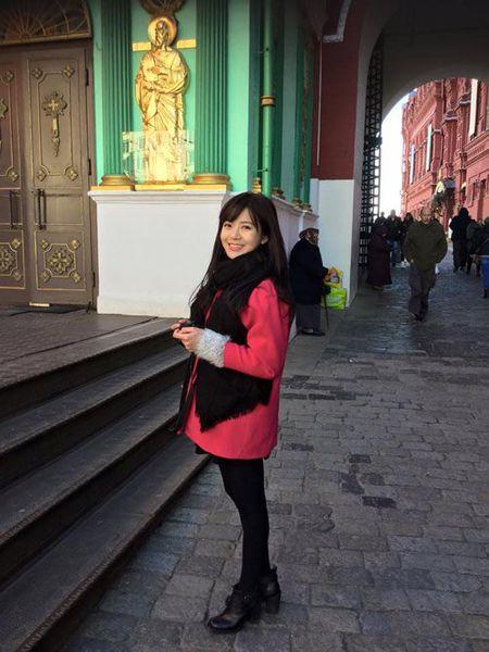 Hinh anh moi nhat cua hot girl Tu Linh sau scandal - Anh 5