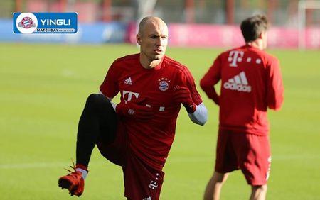 Arjen Robben tro lai tap luyen cung Bayern - Anh 2