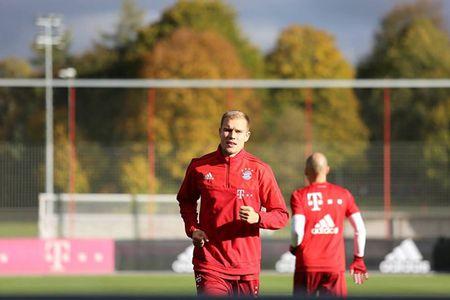 Arjen Robben tro lai tap luyen cung Bayern - Anh 4