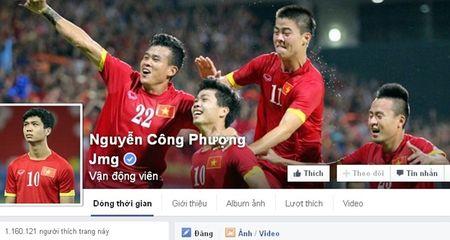 Diem tin hau truong 24/10: Cong Phuong thong tri mang xa hoi trong gioi cau thu Viet - Anh 1