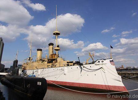 Kham pha noi that tuan duong ham bao ve USS Olympia - Anh 2