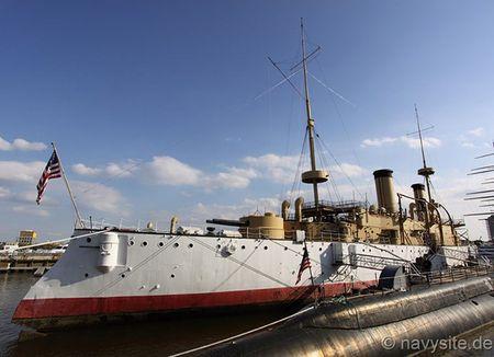 Kham pha noi that tuan duong ham bao ve USS Olympia - Anh 3