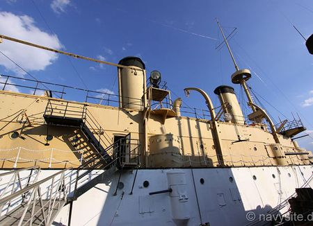 Kham pha noi that tuan duong ham bao ve USS Olympia - Anh 4