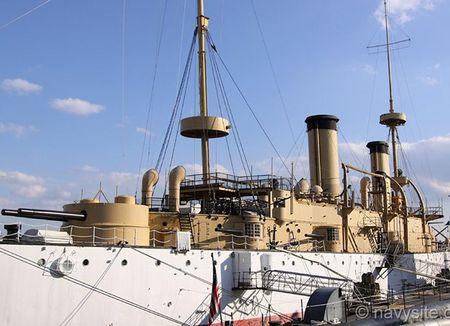 Kham pha noi that tuan duong ham bao ve USS Olympia - Anh 9