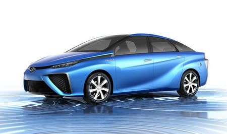 VMS 2015: Toyota se trung bay concept FCV - Anh 1