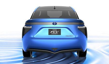VMS 2015: Toyota se trung bay concept FCV - Anh 5