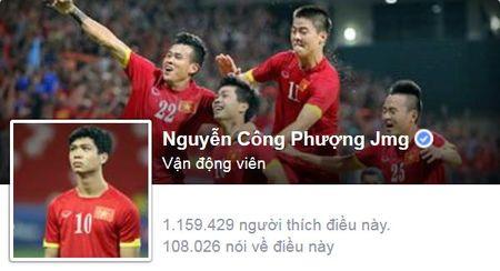 """Cong Phuong, Cong Vinh duoc bao nhieu nguoi """"thich"""" tren facebook? - Anh 1"""
