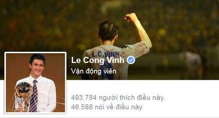 """Cong Phuong, Cong Vinh duoc bao nhieu nguoi """"thich"""" tren facebook? - Anh 2"""