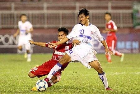 Thang de chu nha, U.21 An Giang vao ban ket - Anh 1