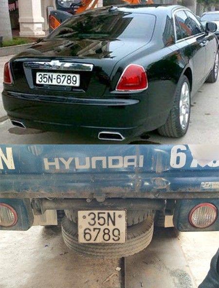 "Truy tim chiec xe Rolls-Royce mang bien so ""san bang tat ca"" - Anh 1"