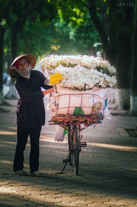 Buc anh an tuong ve nu cuoi cua co ban hoa trong chieu thu - Anh 2