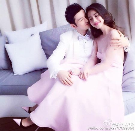 Huynh Hieu Minh va Angela Baby bi che nhao vi dinh rao ban tem cuoi - Anh 2