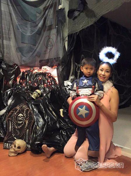 Hoa hau Ha Kieu Anh va vo cu Bang Kieu don le Halloween som - Anh 2
