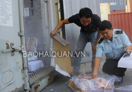 Hai Phong: Giam thoi gian thong quan hang luong Do - Anh 1