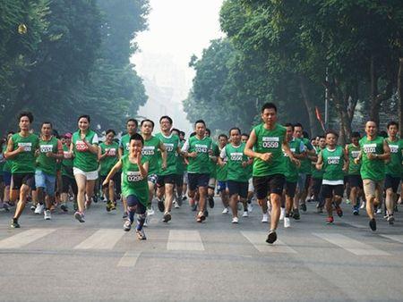Gan 2.000 van dong vien tham gia giai chay VPBank SME Run 2015 - Anh 1