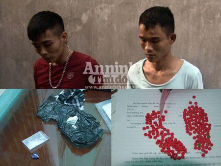 Quang Binh: Bat 2 doi tuong chuyen cung cap so luong lon ma tuy - Anh 1