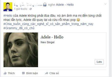 Fan suc soi vi Adele tro lai sau 3 nam vang bong - Anh 3