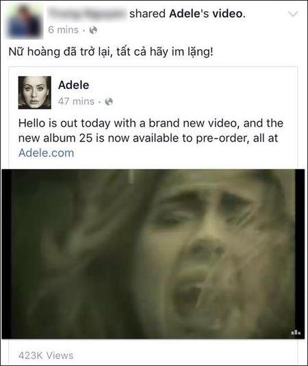 Fan suc soi vi Adele tro lai sau 3 nam vang bong - Anh 7