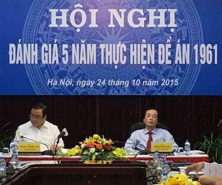 Bo Xay dung to chuc Hoi nghi Danh gia 5 nam tong ket thuc hien De an 1961 - Anh 2