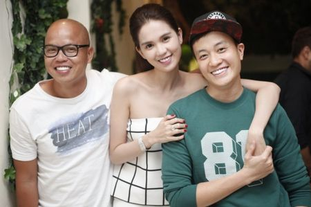 Ngoc Trinh hao hung khoe giong trong tiec dong may 'Vong eo 56' - Anh 12