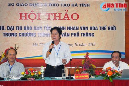 Dai thi hao dan toc - Danh nhan Van hoa the gioi trong chuong trinh ngu van pho thong - Anh 1