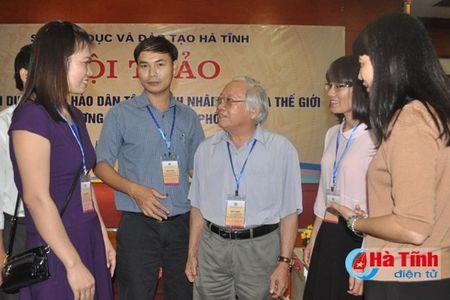 Dai thi hao dan toc - Danh nhan Van hoa the gioi trong chuong trinh ngu van pho thong - Anh 4