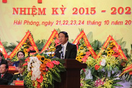 Ong Le Van Thanh duoc bau giu chuc Bi thu thanh uy Hai Phong - Anh 1
