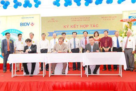 Binh Thuan: Khoi cong du an 3.186 can ho nha o xa hoi - Anh 1