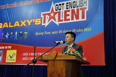 Quang Nam: Khai mac vong chung ket tai nang tieng Anh Galaxy lan thu nhat - Anh 1