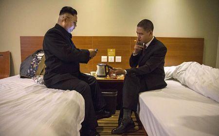 Ban sao Obama va Kim Jong Un dong phim chung - Anh 12