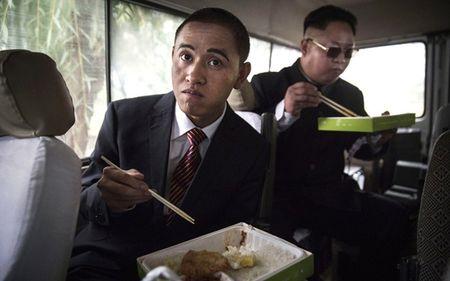 Ban sao Obama va Kim Jong Un dong phim chung - Anh 14