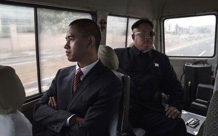 Ban sao Obama va Kim Jong Un dong phim chung - Anh 15