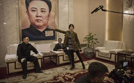 Ban sao Obama va Kim Jong Un dong phim chung - Anh 3