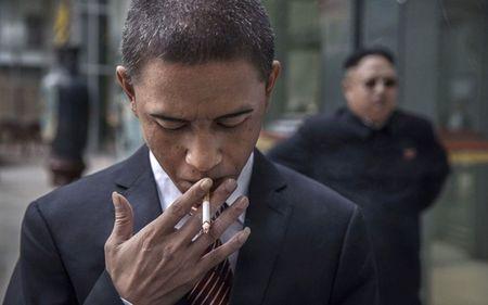 Ban sao Obama va Kim Jong Un dong phim chung - Anh 4