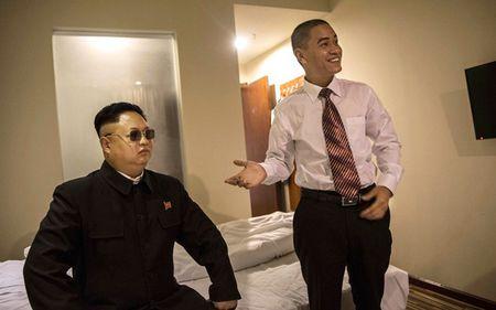 Ban sao Obama va Kim Jong Un dong phim chung - Anh 6