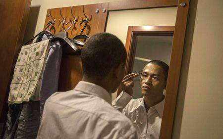 Ban sao Obama va Kim Jong Un dong phim chung - Anh 7