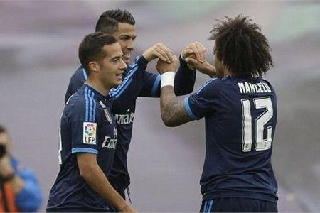 """Ronaldo no sung, Real """"giai ma"""" hien tuong Celta Vigo - Anh 1"""
