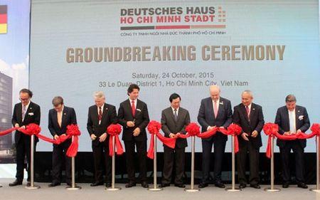 Khoi cong xay dung Ngoi nha Duc- Deutsches Haus tai TP HCM - Anh 1