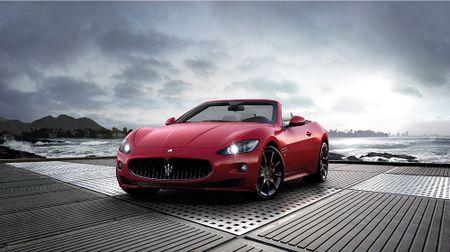Hang xe sang Maserati chinh thuc vao Viet Nam - Anh 1