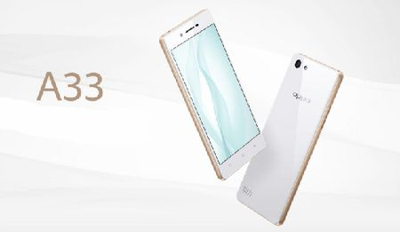 Ra mat Oppo A33 gia tam trung - Anh 1