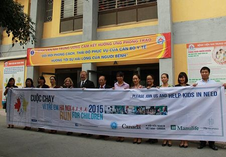 Cung chay vi tre em Ha Noi Run For Children 2015 vao ngay 6.12 toi! - Anh 2
